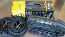 Vittoria Rubino PRO SLICK Folding Tyres (700x23) Road Bike (NEW) Black