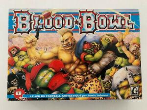 Blood Bowl vintage (1991) Starter set complet TBE Game Workshop Descartes