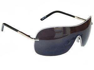 Sonnenbrille Pilotenbrille Silber Schwarz Grau Retro Porno  Fliegerbrille M8