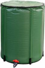 Litgrow 250L(66 Gallon) Collapsible Rain Water Barrel,Portable Water Storage Tan