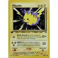 Pokemon Pikachu Neo Genesis 1. Edition 70/111 Englisch LP/NM