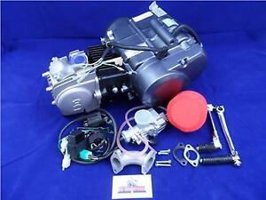 New Lifan 125cc Big Valve Head 4 Speed Manual Pit Bike Engine Full Package