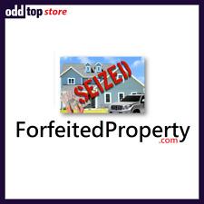 ForfeitedProperty.com - Premium Domain Name For Sale, Dynadot