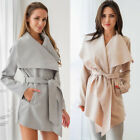 New Womens Knitted Long Jumpers Jackets Overcoat Ladies Knitwear Cardigan Coats