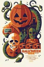 HALLOWEEN III SEASON OF THE WITCH TOM WHALEN PRINT POSTER NYCC 2019 EXCLUSIVE