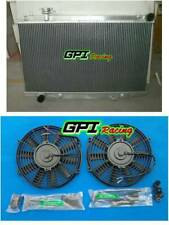 Aluminum Radiator +FAN FIT Nissan Fairlady 350Z Z33 2003-2006 2004 2005  AT/ MT