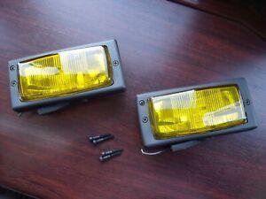 renault 5 gt turbo fog lights lamps gtt yellow - R9 R11 R21 R25 VALEO CIBIE PH2