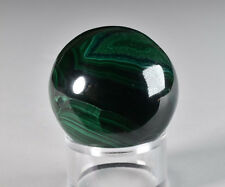 Polished Malachite Sphere Africa   3.9 cm # 2395