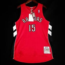 Vince Carter Mitchell Ness 03 04 Raptors away Jersey Mens Size 48 XL