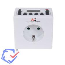 Maclean programador temporizador Eléctrico digital 3600w 220/240v16a interruptor