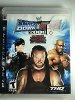 WWE SmackDown vs. Raw 2008 Featuring ECW (Sony PlayStation 3, 2007) PS3