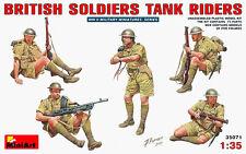 MODEL KIT MIN35071 - Miniart 1:35 - British Soldiers Tank Riders