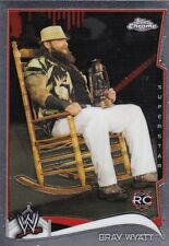 2014 TOPPS WWE CHROME BRAY WYATT ROOKIE WRESTLING CARD