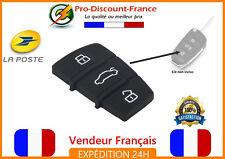 Bouton Pour Clé AUDI 3 boutons Pad coque Touches Membrane A3 A4 A6 A8 Q7 TT