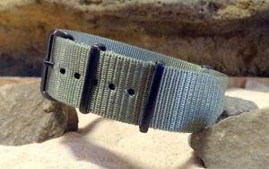 XII Ballistic Nylon Strap w/ PVD Hardware By NATO Strap Co.(℠)