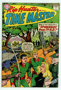 JERRY WEIST ESTATE: RIP HUNTER… TIME MASTER #9 & 22 (FN) (DC 1962-64) NO RES!
