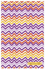 Password Book Large Print Website Log Notebook Journal Organizer Purple Waves