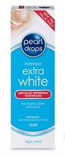 BEST PRICE! 3 X PEARL DROPS EXTRA WHITE FRESH MINT 110G TOTAL 330G DISCOUNT