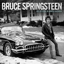 BRUCE SPRINGSTEEN OFFICIAL 2017 UK SQUARE WALL CALENDAR NEW & SEALED SALE !!