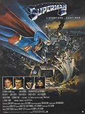 SUPERMAN 2 Movie POSTER 27x40 French Christopher Reeve Margot Kidder Gene