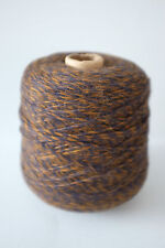 Inca Tops Baby Alpaca Knitting Yarn Indigo Brown Marl