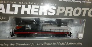 Walthers Proto  -  Southern Pacific GP9 Phase I, DC  #5601 -  #920-47880    SP