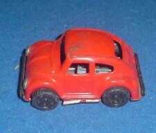 VINTAGE TINPLATE FRICTION DRIVE VOLKSWAGEN VW BEETLE CAR 8cm / 3.25ins LONG