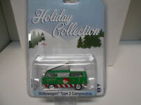 VOLKSWAGEN T2 TYPE 2 CAMPMOBILE HOLIDAY GREENLIGHT 1:64