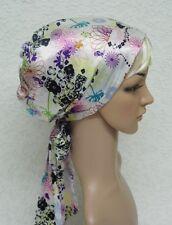 Satin tichel, head covering, bonnet for long hair, head scarf, sleeping scarf