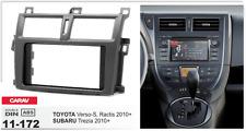 CARAV11-172 Car Radio Fascia Stereo Trim Dash Kit For Verso-S,Ractis/Trezia 2DIN