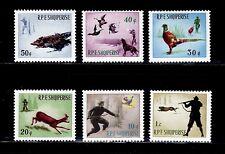 SELLOS FAUNA ALBANIA 1965 809/14  6v.