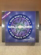 Who Wants To Be A Millionaire Party Video Game System Plug into TV Senario NIB