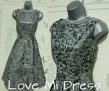 Gorgeous 40's 50's Style  Evening Dress 8 EU36