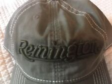 NEW-Remington Hat-Low Profile-Unstructured-Cotton-Washed look
