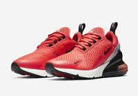 Nike Air Max 270 Red Orbit Black Running Shoes Men's Size 11 BV6078-600 New