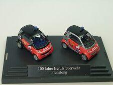 Busch Smart 100 Jahre Feuerwehr FLENSBURG, 2er Set - 1/87