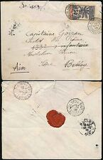 Pictorial Cancellation Cover European Stamps
