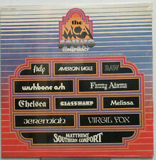 Wishbone Ash Scellé MCA Son Complot 1971 Promo LP Chelsea Kiss Verre Harpe