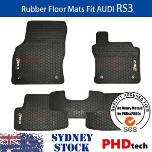 Prime Quality All Weather Rubber Car Floor Mats for Audi A3 RS3 2013~2021