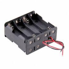 Coupleur 8 Piles AA R6 R06 Lr6 Lr06 Boitier Support plastique Holder Box Case