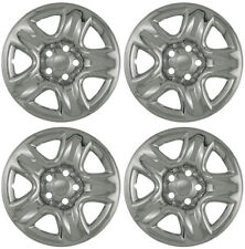 "New Set of 4 16"" Chrome Wheel Skins for 2001-2011 Toyota Rav4 16"" Steel Wheels"