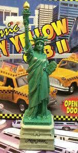 "LARGE 10"" Statue of Liberty Replica Figurine w. Base Souvenir New York City f023"
