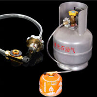 Switching Inflatable Valve Adapter for Flat Tank Liquefied Gas Cylinder Camping