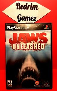 Jaws Unleashed PS2 Video Games