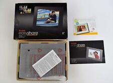 "New Kodak EasyShare P86 8"" Digital Picture photo Frame Black Easy Share P 86 blk"