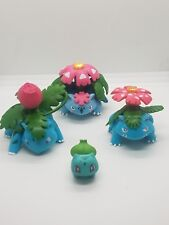 pokemon figures lot bulbasaur Ivysaur Venusaur Mega-Venusaur 1.25-2.5 inches