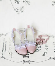 1/3 bjd SD13 SD16 girl doll lace pink high-heel shoes Supia Smart feeple luts