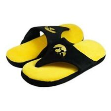 NWT Iowa Hawkeyes Comfy Flip Flop Sandal Slippers by Comfy Feet - 2XL