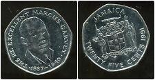 JAMAIQUE 25 cents  1991