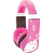 Sakar 30309 Hello Kitty Kids Friendly Over-The-Ear Headphones